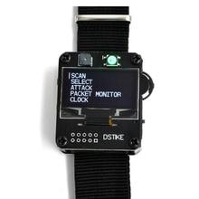 DSTIKE WiFi Deauther שעון צמיד V2 לביש Esp שעון ESP8266 פיתוח לוח חכם שעון DevKit NodeMCU I2 002