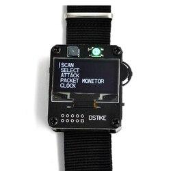DSTIKE WiFi Deauther Watch Wristband V2 Wearable Esp Watch ESP8266 Development Board Smart Watch DevKit NodeMCU