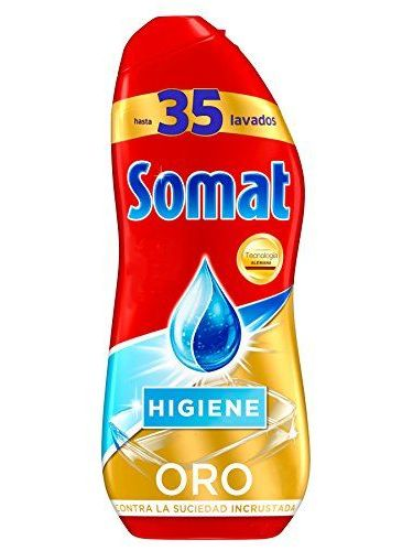 Somat Gold Gel Lavavajillas Hygiene – 35 Washes (630 ml)