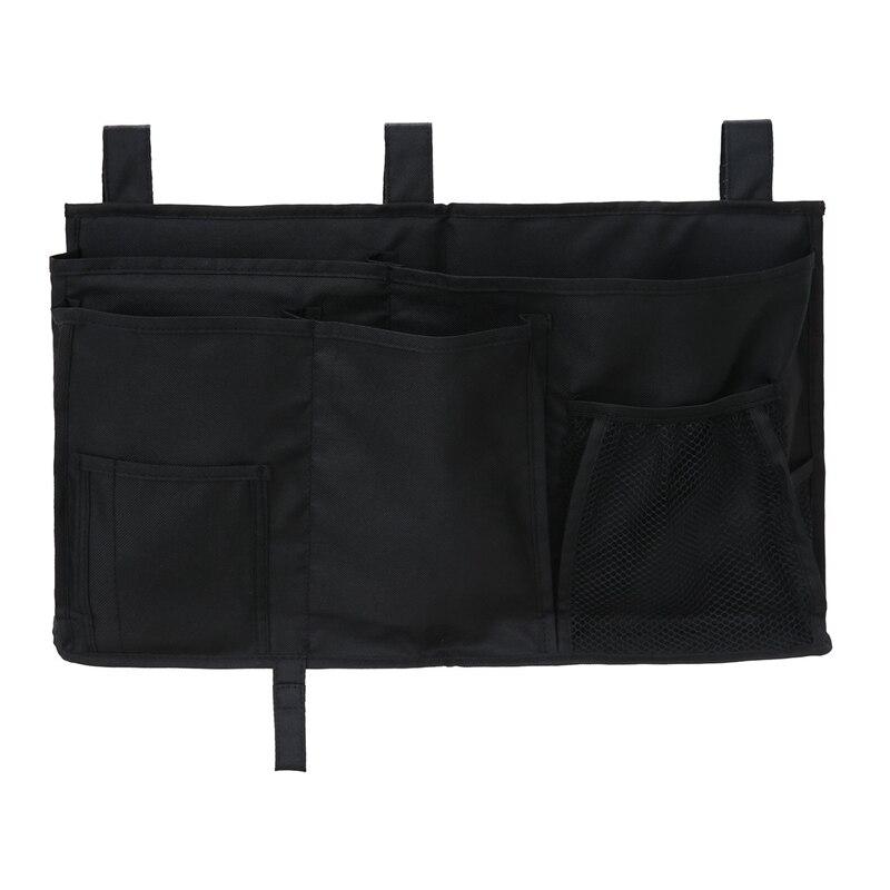 Hanging Organizer Bedside Storage Bag For Bunk And Hospital Beds, Dorm Rooms Bed Rails