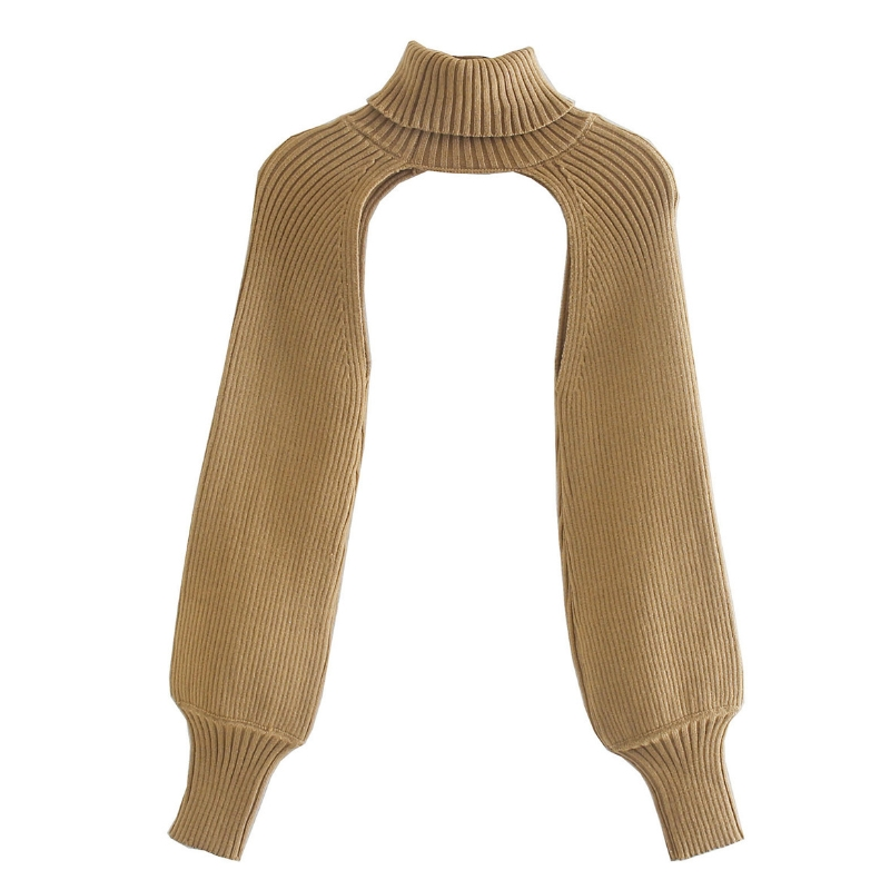 Women Turtleneck Long Sleeve Knitting Sweater Casual Femme Chic Design Pullover High Street Lady Tops SW886