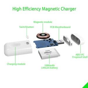 Image 4 - 【Upgraded】For Apple İzle kablosuz şarj, taşınabilir manyetik iWatch şarj açık seyahat için, Apple için İzle serisi 12345