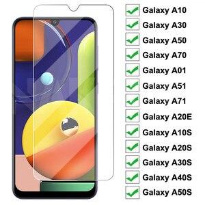 Защитное стекло 9D для Samsung Galaxy A10 A30 A50 A70 A01 A51 A71, пленка для экрана A20E A20S A30S A40S A50S A70S M30S, стекло