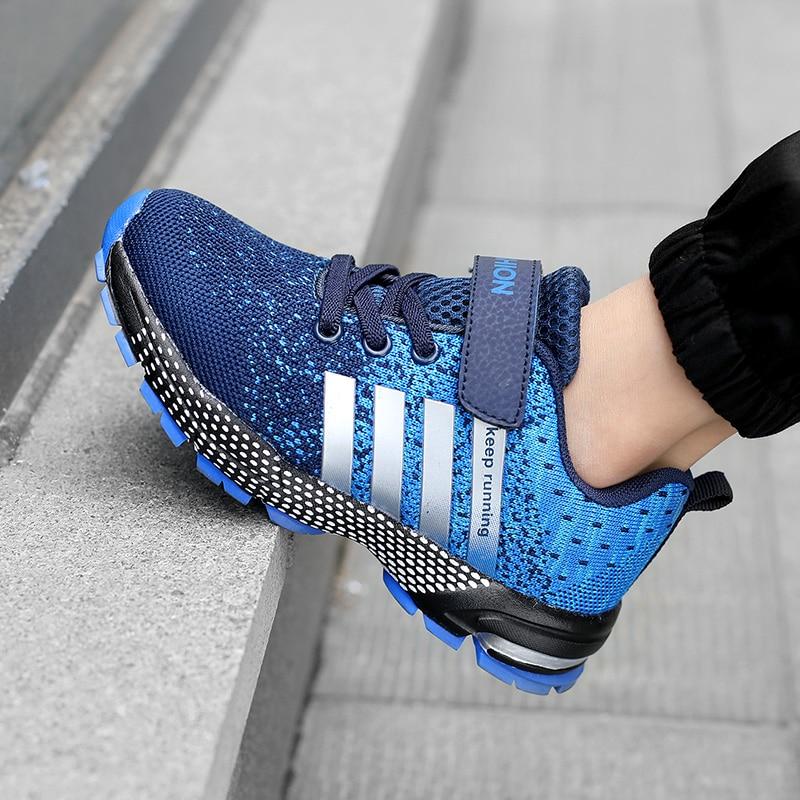 Купить модные кроссовки для маленьких мальчиков 2020 и девочек школьные