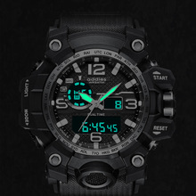 Electronic watch male outdoor multi-function sports waterproof student
