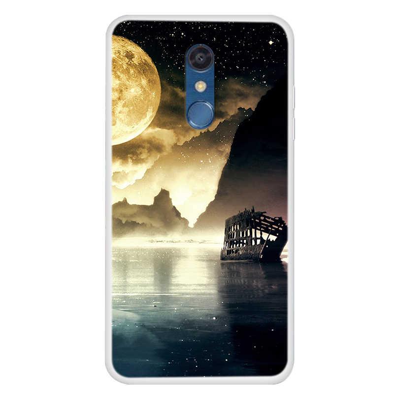 Funda para LG K11 Q60 K50 K40 G8S thinq G6 G5 G4 Q6 V20 V30 funda de teléfono de TPU suave para LG Q60 LGG5 Coque para LG G 6 V 30