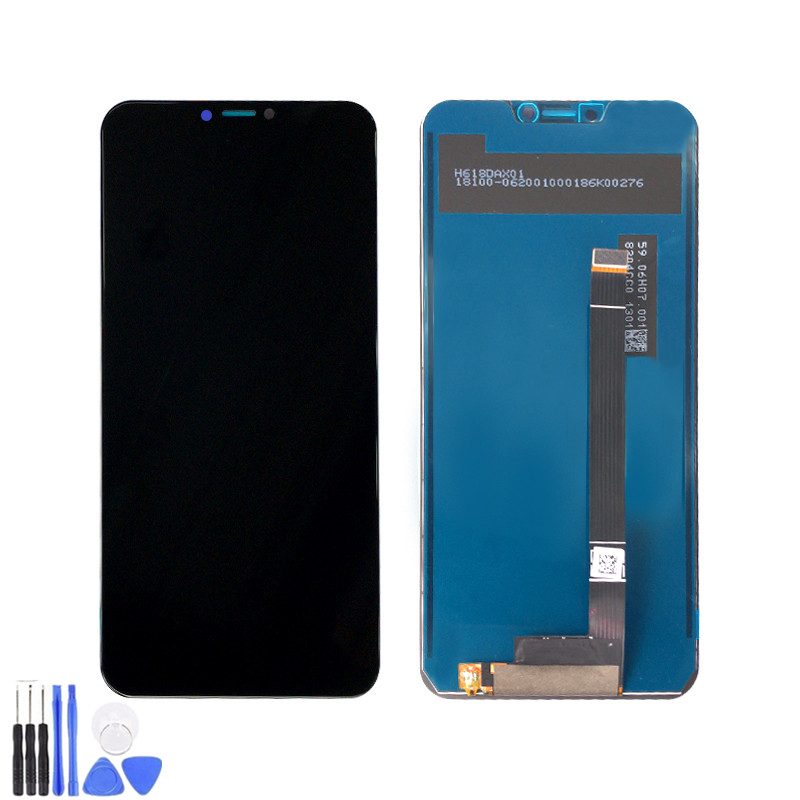 Original for Asus Zenfone 5z ZS620KL LCD Display Touch Screen for Zenfone 5 ZE620KL Digitizer Assembly Replacement +Frame
