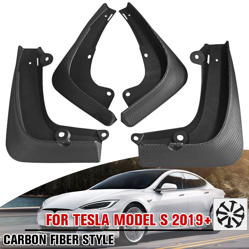 4 Pcs//Set Mud Flaps Fenders Splash Guards for Ford Fiesta Mk7 Front Rear Set Mud