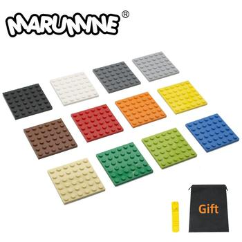 MARUMINE 6 x plate 36 Dots Particles Building Blocks Plate 3958 Bricks Set Boys Girls DIY Classic Educational Children Toys - discount item  30% OFF Building & Construction Toys