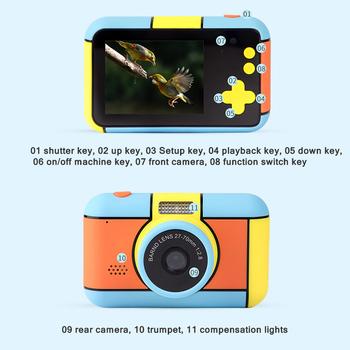 2020 gorący aparat natychmiastowy dla dzieci aparat fotograficzny 1920x1080P aparat cyfrowy dla dzieci aparat fotograficzny Instant Print urodziny prezenty dla Girl Boy tanie i dobre opinie powstro 7 1x-16x CN (pochodzenie) Rozpoznawania twarzy Full hd (1920x1080) CMOS 1 2 4 cali 3 8-247mm 24 0MP small camera