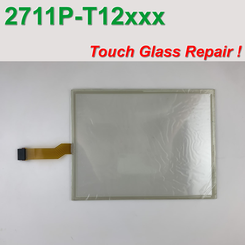 AB PanelView Plus 1250 2711P-T12C4A1 Touch Glass for Machine Operator Panel repair~do it yourself, Have in stock