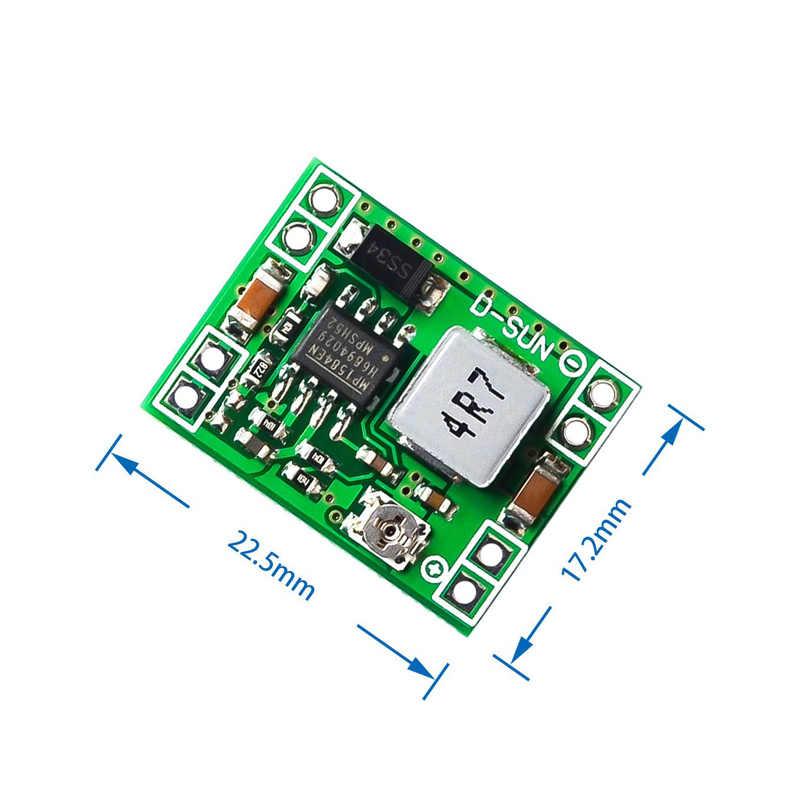 Convertisseur abaisseur réglable MP1584EN 3A de Module d'alimentation abaisseur de DC-DC de petite taille pour Arduino remplacer LM2596