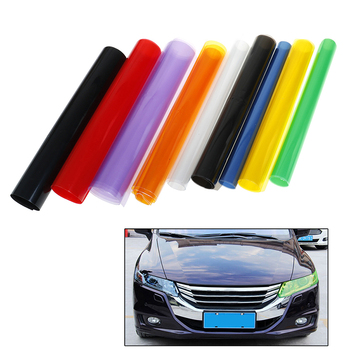 Sheet Sticker Cover Automobiles Decal Car styling Auto Car Tint Headlight Taillight Fog Light Film 30cm x 100cm image