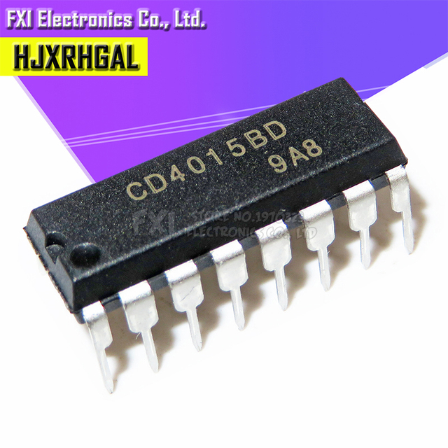 10PCS CD4015BE CD4015 DIP16 DIP new original