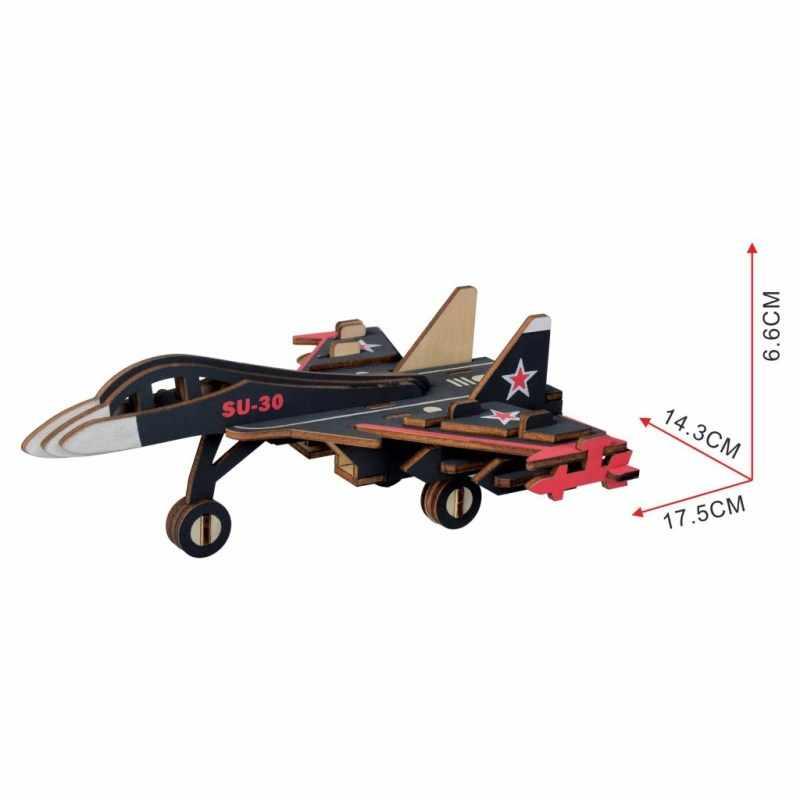 ألعاب الأطفال الألغاز مونتيسوري خشبية لغز للأطفال الإدراك الخربشة الطائرة 3D لغز لعبة الألعاب التعليمية forChildren هدية
