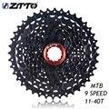 ZTTO 9 s 11-40T кассета 9 скорость 40t маховик Freewheel совместимый MTB горный велосипед запчасти для M430 M4000 M3000