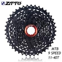 ZTTO 9 s 11-40T Cassette Speed 40t Flywheel Freewheel Compatible MTB Mountain Bike parts for M430 M4000 M3000