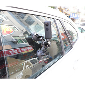 Image 3 - عمل كاميرا سيارة شفط كأس ل Insta360 واحد X GoPro بطل 8 7 5 سوني SJCAM يي 4K EKEN DJI جبل زجاج النافذة مصاصة الملحقات