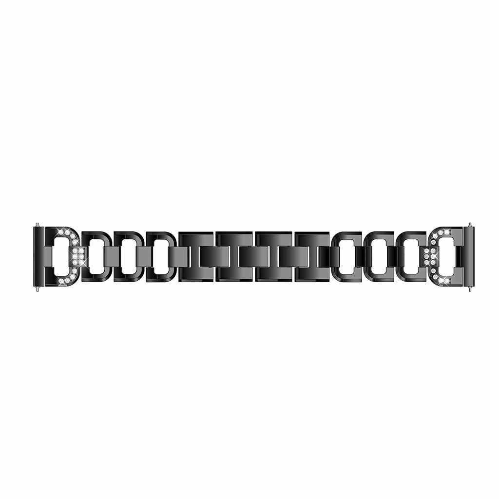 Di cristallo del Metallo Della Cinghia di Polso Per Garmin Fenix 6/Fenix 6Pro Cinturino di Vigilanza del Cinturino di Ricambio Nuovo di Lusso Degli Uomini Delle Donne braccialetto 19Oct
