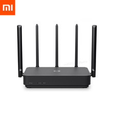 Xiaomi Router 4 Pro Gigabit 2.4G/5.0GHz Dual-Band 1317Mbps 128RAM Wifi Repeater 5 High Gain Antennas Wider IPv6 Wireless Router