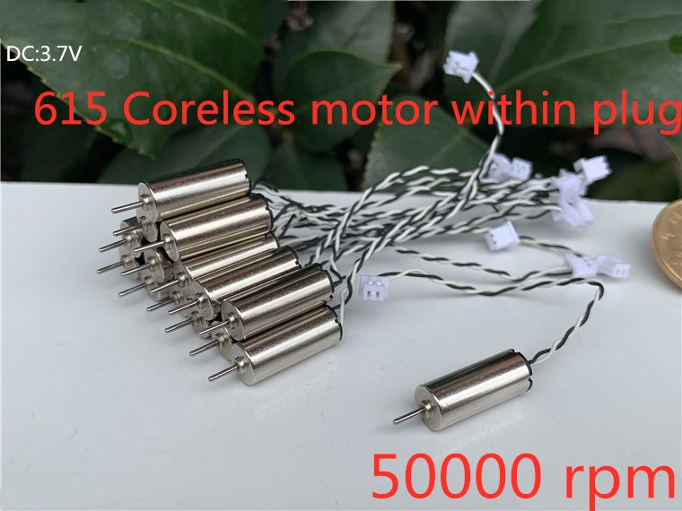 615 6x15mm 0615 6*15mm 3.7V High Speed Small Mini Coreless Motor For DIY Micro FPV Quadcopter Helicopter Toy Frame