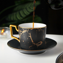 Creative Marbling Coffee cup ceramic water mug home ceramic Black tea cup saucer latte coffee cup and saucer set sent spoon peacock shape water cup large capacity mug with lid spoon creative personality tea cup ceramic coffee cup latte milk mug