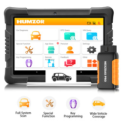 Humzor NexzDAS Pro Full System Auto Diagnostic Tool OBD2 Scanner with IMMO/ABS/EPB/SAS/DPF/Oil Reset Special Function
