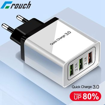 Szybkie ładowanie 3.0 QC 3.0 US ue wtyczka USB ścienna szybka ładowarka podróżna dla apple iPhone Samsung s8 s9 note8 Nokia 6X6 7 LG G6 ładowarka