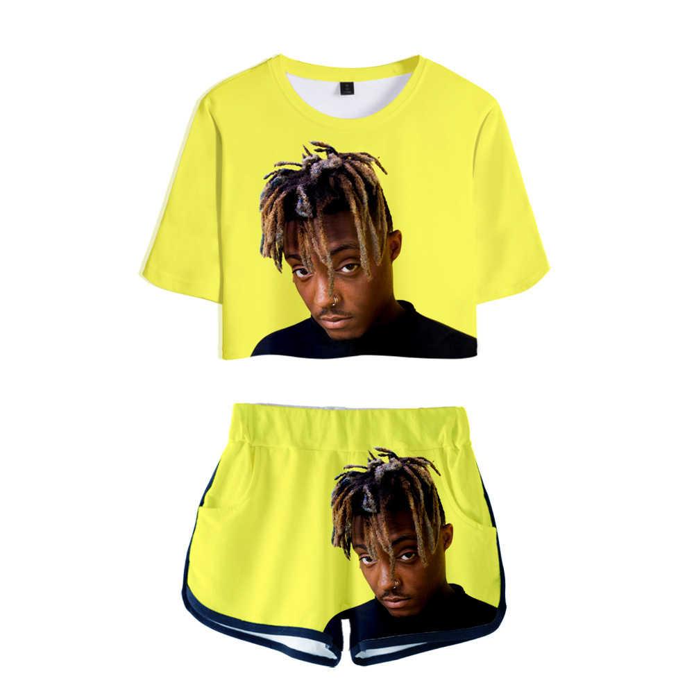 Saludo Al Rapero Juice Wcld Hip Hop Emo Trap Lucid Dreams 3d Dos Piezas Conjuntos Mujer Moda Chica Casual T Camisa Pantalones Cortos Ropa Conjuntos De Mujer Aliexpress