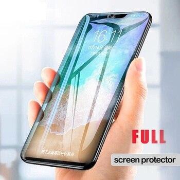 Перейти на Алиэкспресс и купить Мягкая Гидрогелевая пленка для Vivo Z6 IQOO 3 5G V17 SD675 X30 Z1 Z5X Pro S5 полное покрытие изогнутое Защитное стекло для экрана не закаленное стекло