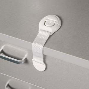 Toilet Locks-Straps Safety-Locks Cabinet Plastic Cupboard Drawer-Door Baby-Protection