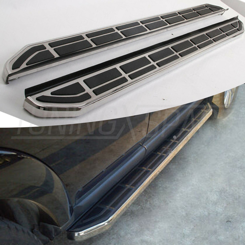 Aluminium Running Board Side Step Nerf Bar Suitable FOR Land Rover Discovery 3 4 LR3 LR4 LR3 4 2004 2016|side step nerf bars|nerf bars|running boards - title=