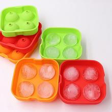 Ice Cube Maker Eco-friendly Low Temperature Resistant Silicone Ice Ball Cube Mold Tray for Home