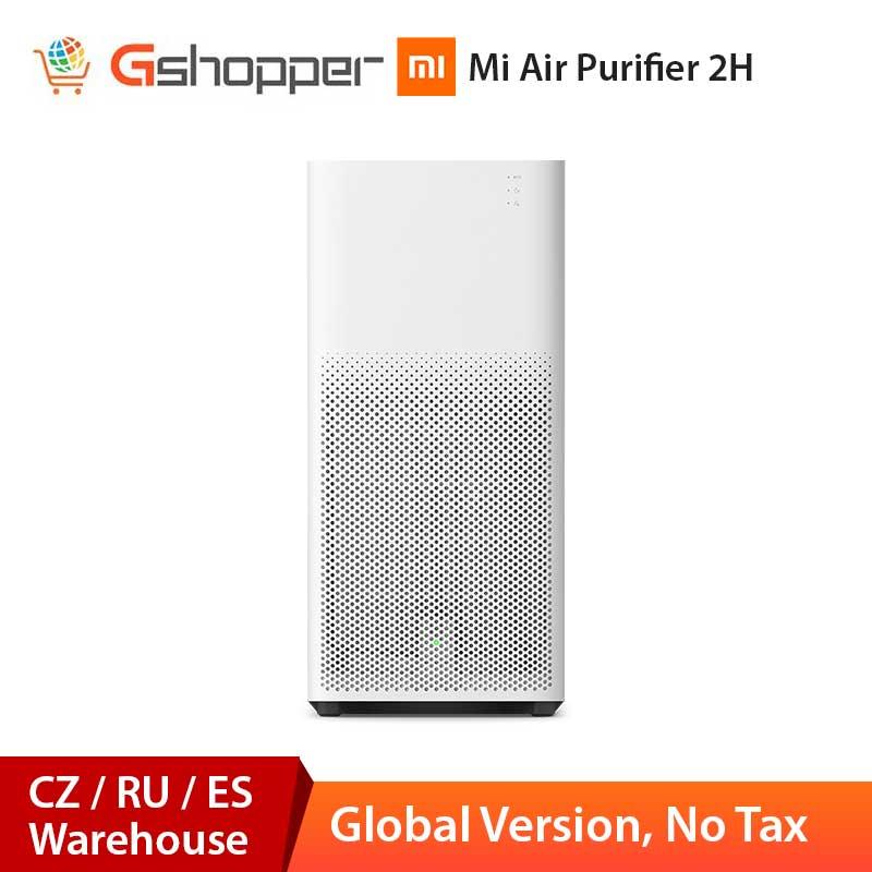 Global Version Xiaomi Mi Air Purifier 2H Sterilizer Addition Formaldehyde Wash Cleaning Intelligent Household Air Virus