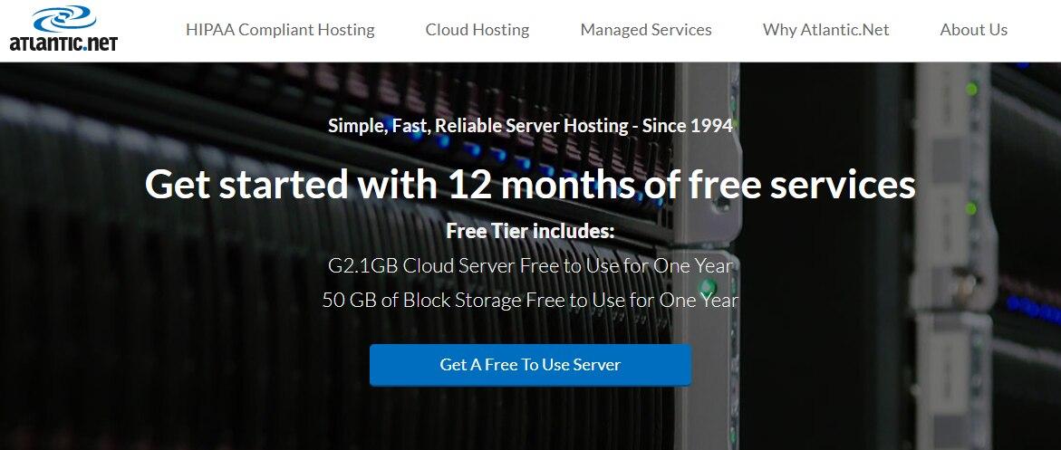 Atlantic:一年免费使用的G2.1GB云服务器一年免费使用的 50 GB块存储