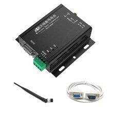 2,4G RS232 RS485 2 км DTU полный дуплексный беспроводной rs232 передатчик частота скачка DTU блок передачи данных