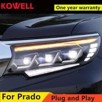 Head Lamp for Toyota Land Cruiser Prado 2018 Headlights Prado LED Headlight DRL LED Automobile Accessories