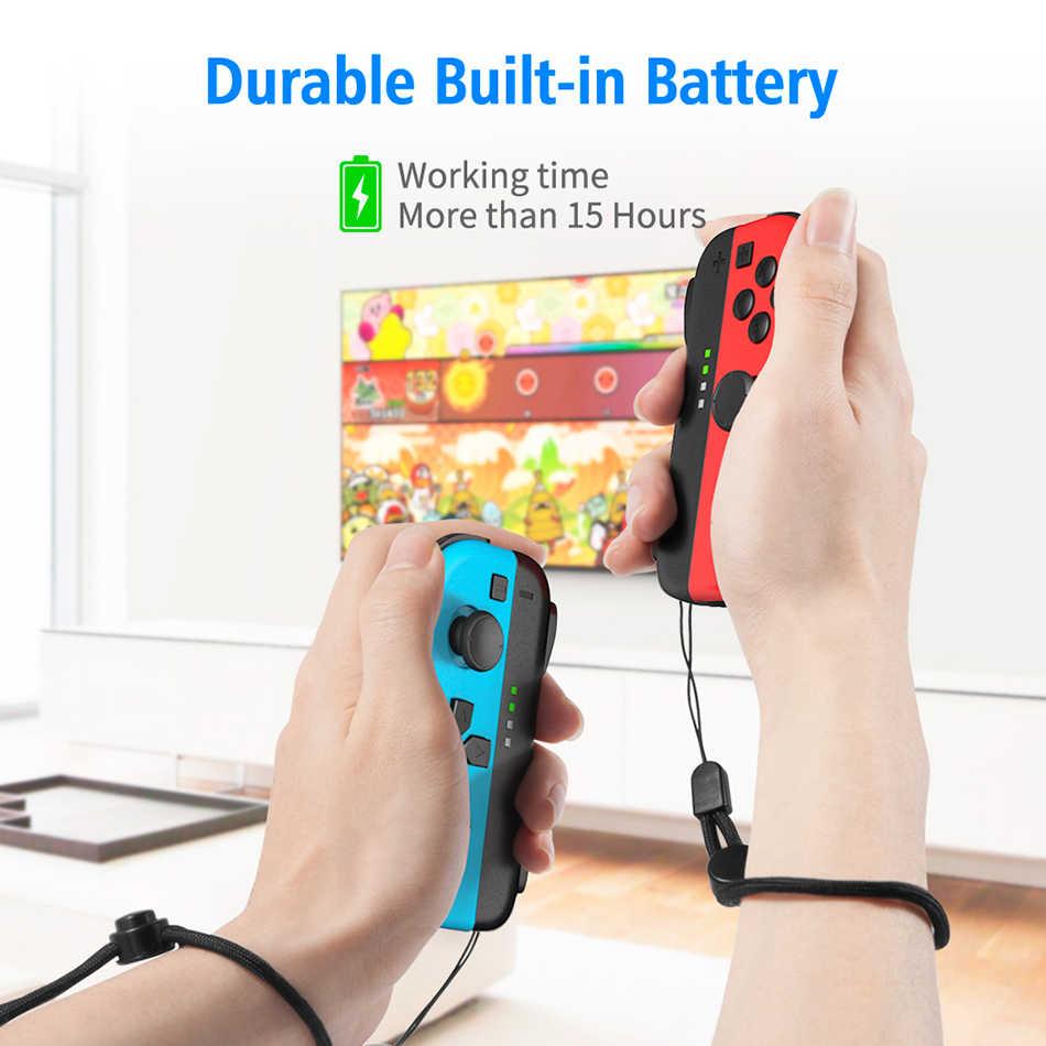 Oivo Công Tắc Joy Con Bộ Điều Khiển Cho Máy Nintendo Không Dây Joystick Joycon L/R 2 Tay Cầm Chơi Game Điện Tử Công Tắc Phụ Kiện Bộ Điều Khiển Dây Đeo Cổ Tay
