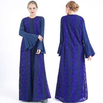 Dubai Abaya Saudi Arabia Turkey Hijab Muslim Dress Caftan Marocain Kaftan Islamic Clothing Abayas For Women Ramadan Dresses robe muslim women dress abaya short sleeved small dots pattern marron robe dubai caftan clothing