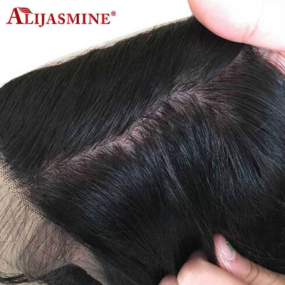Silk Base Lace Front Human Hair Wigs For Women 13x4 Indian Remy Hair Body Wave Lace Front Wig Preplucked With Baby Hair 130%