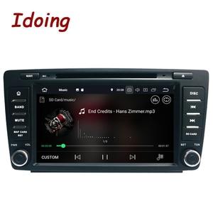 Image 2 - 안드로이드 10 4G + 64G 8 코어 2Din 스티어링 휠 Skoda Octavia 2 차량용 멀티미디어 DVD 플레이어 1080P HDP GPS + Glonass 2 Din
