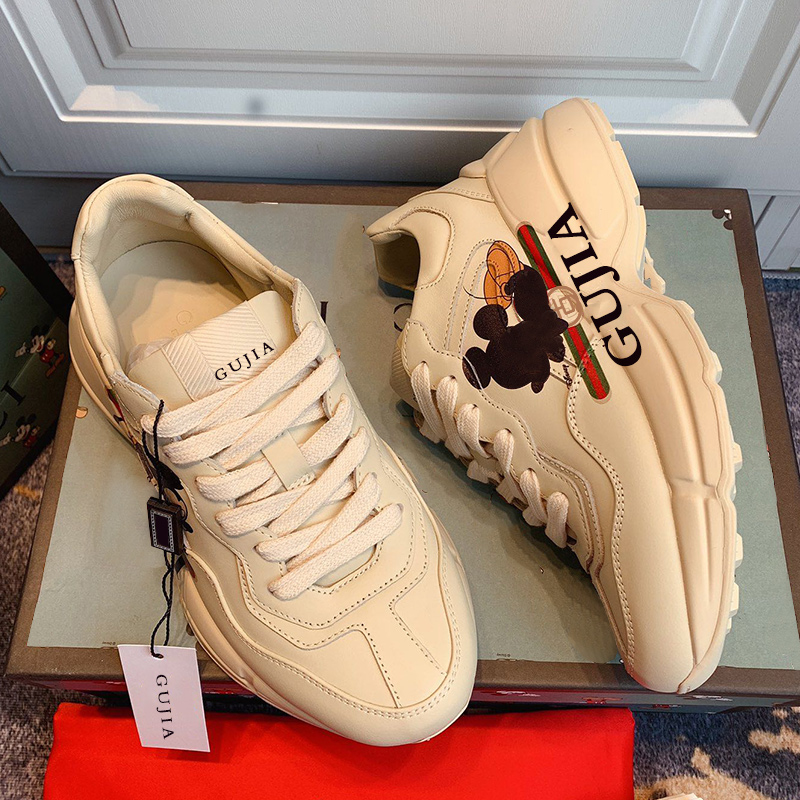 2020 Latest Gujia Women's Shoes From The Fashion Women's Shoe Counter In Are Made Of Cowhide Leather And Upper Leather