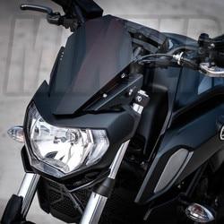 Fit For YAMAHA MT-07 MT 07 2018 2019 2020 MT07 FZ07 FZ-07 FZ 07 Motorcycle CNC Windshield Windscreen Aluminum Kit Wind Deflector