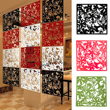 Room-Divider Flower-Partition Hanging-Screen 1pcs 4-Color Curtain-Hollow-Out Butterfly