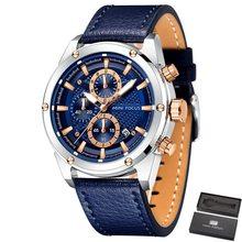 MINI FOCUS Chronograph นาฬิกาผู้ชายแฟชั่นนาฬิกาควอตซ์ผู้ชายหรูหรานาฬิกากันน้ำ Relogio Masculino