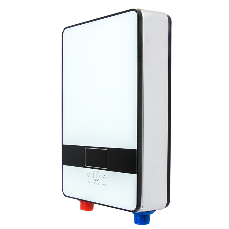 DSK-65DW, Instant Heating Electric Hot Water Heater 6500W Overheating Protection Constant Temperature With Shower