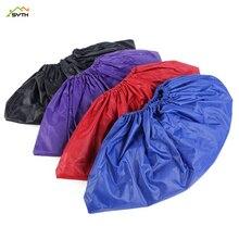 Environmentally friendly PVC shoe cover rubber rainproof reusable elastic overshoe slip bicycle protective set