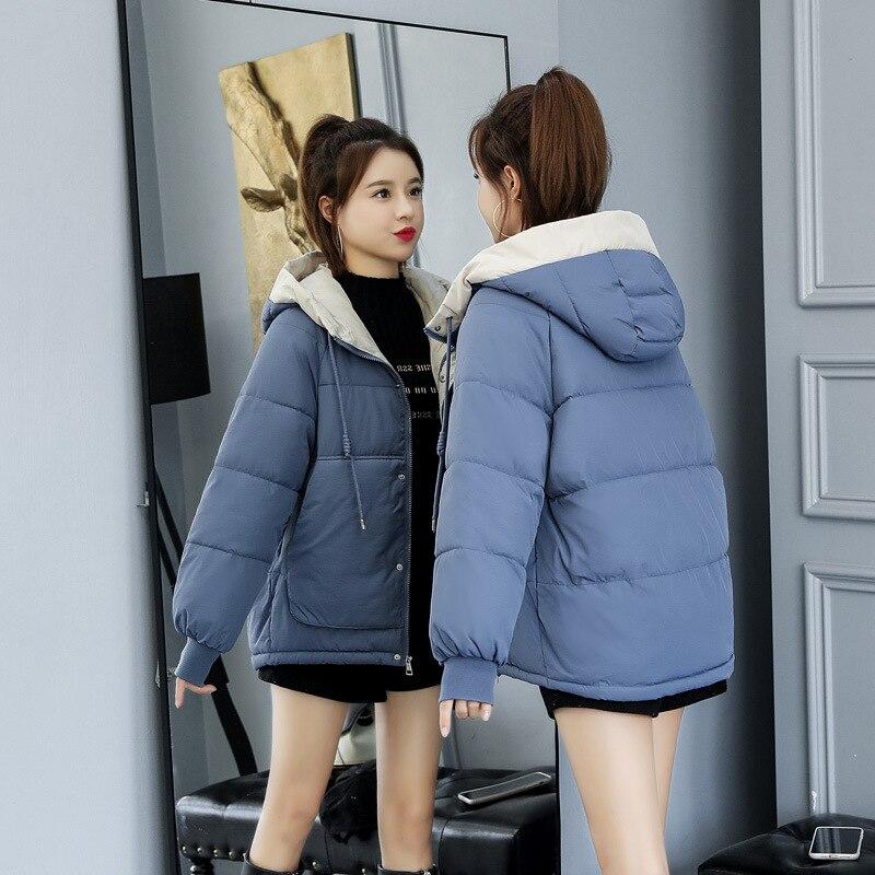 Veste d'hiver femmes grande fourrure à capuche Parka manteaux coton rembourré dames hiver manteau femmes chaud épaissir Jaqueta Feminina Inverno