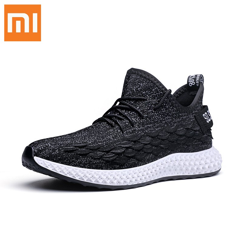 Xiaomi Mijia Sneakers Size 39- 46 Breathable Sneaker Men's Casual Shoes Comfortable Non-slip Wear-resisting Sports Shoes