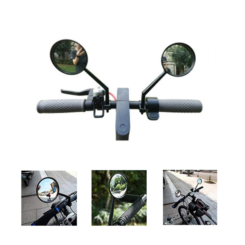 Millet Bike Electric Scooter Rear View Mirror MTB Bicycle Large View Convex Mirror Retroreflector Modification Accessories